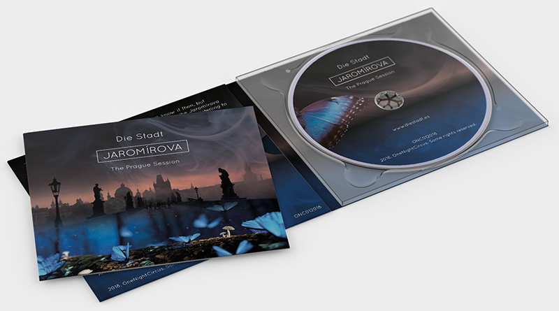 Digipack of Jaromírova by Die Stadt.